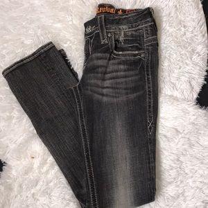Rock Revival Straight Leg Jeans Sz 29